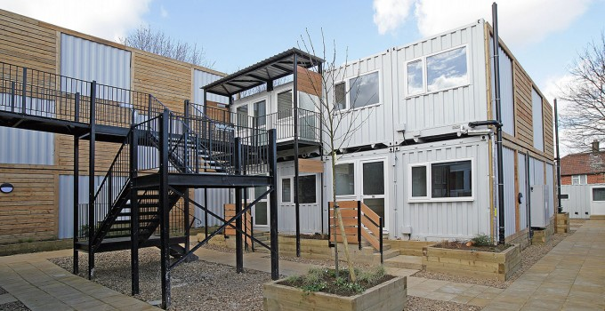 Container housing london cityzen architecture cityzen architecture - Container homes london ...